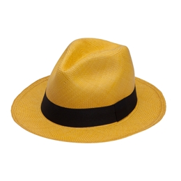 PANAMA HAT YELLOW