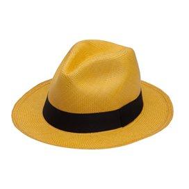 PANAMA HAT YELLOW