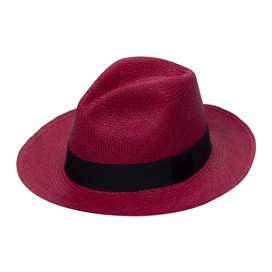PANAMA HAT BORDEAUX