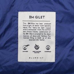 BM GILET DAZZLING BLUE