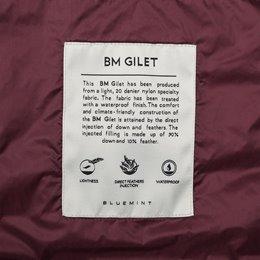BM GILET BORDEAUX