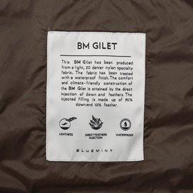 BM GILET LIGHT BROWN